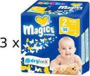 Продаём оптом из Польши детские подгузники Magics Premium
